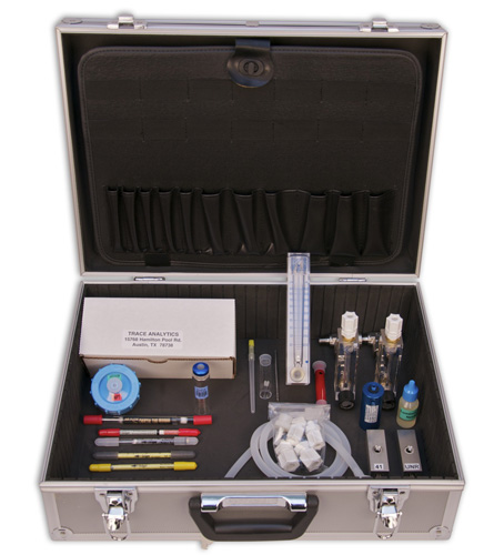 Compressed Air Testing Kit for ISO 8573 - Gases, Particles, Water, and Oil